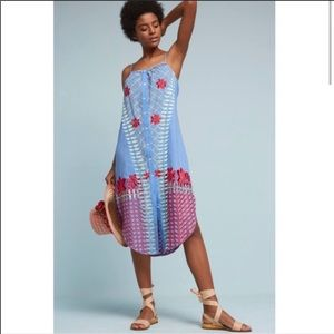 Anthropologie Lilka Estina embroidered Maxi Dress